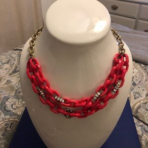 Red JCrew necklace